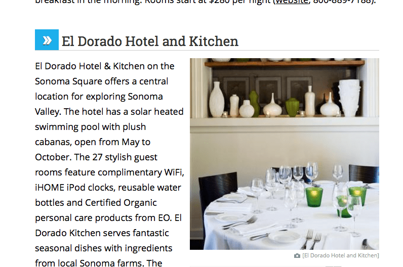 El Dorado Hotel and Kitchen review.