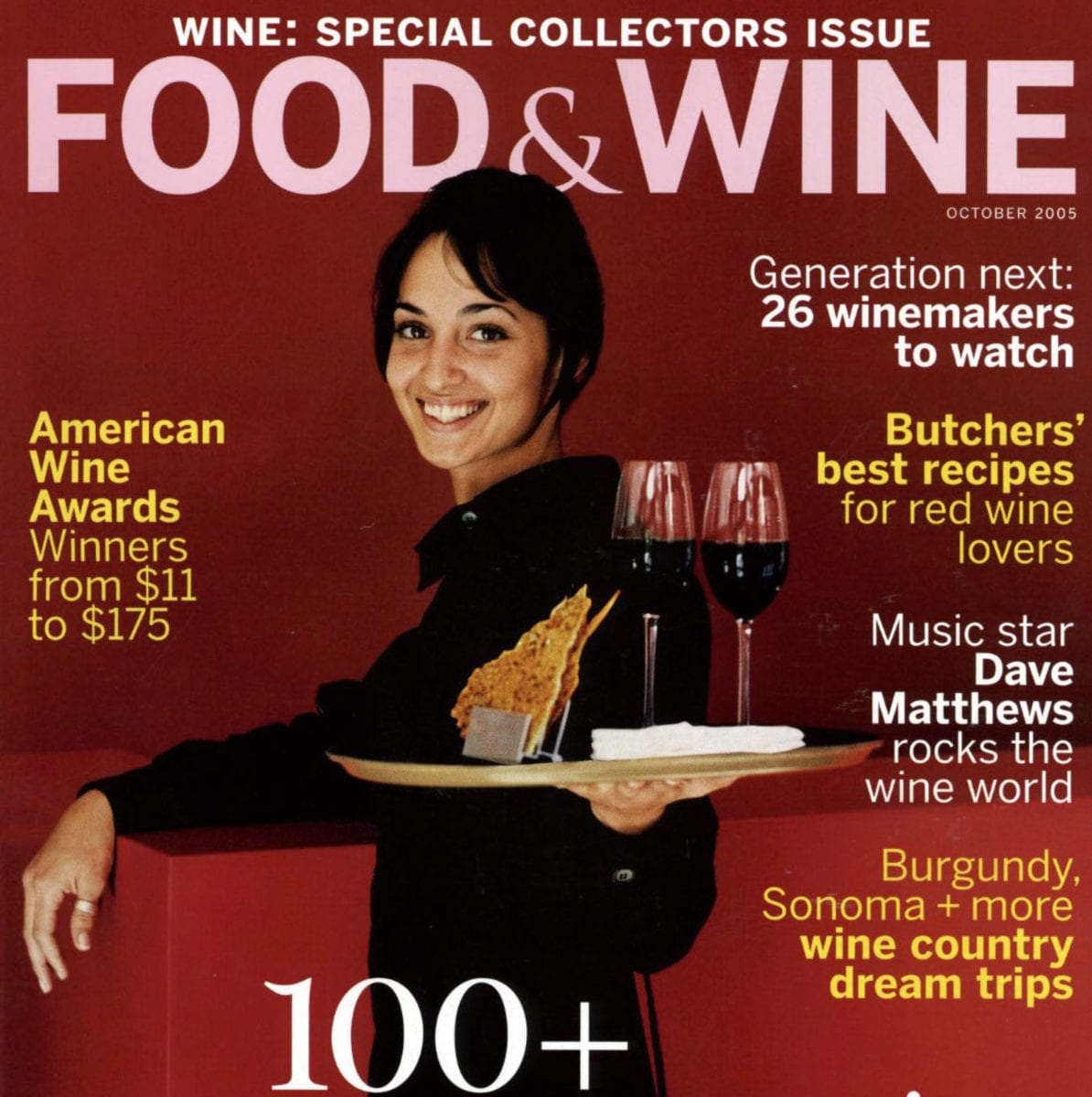 Food & Wine magazine cover.