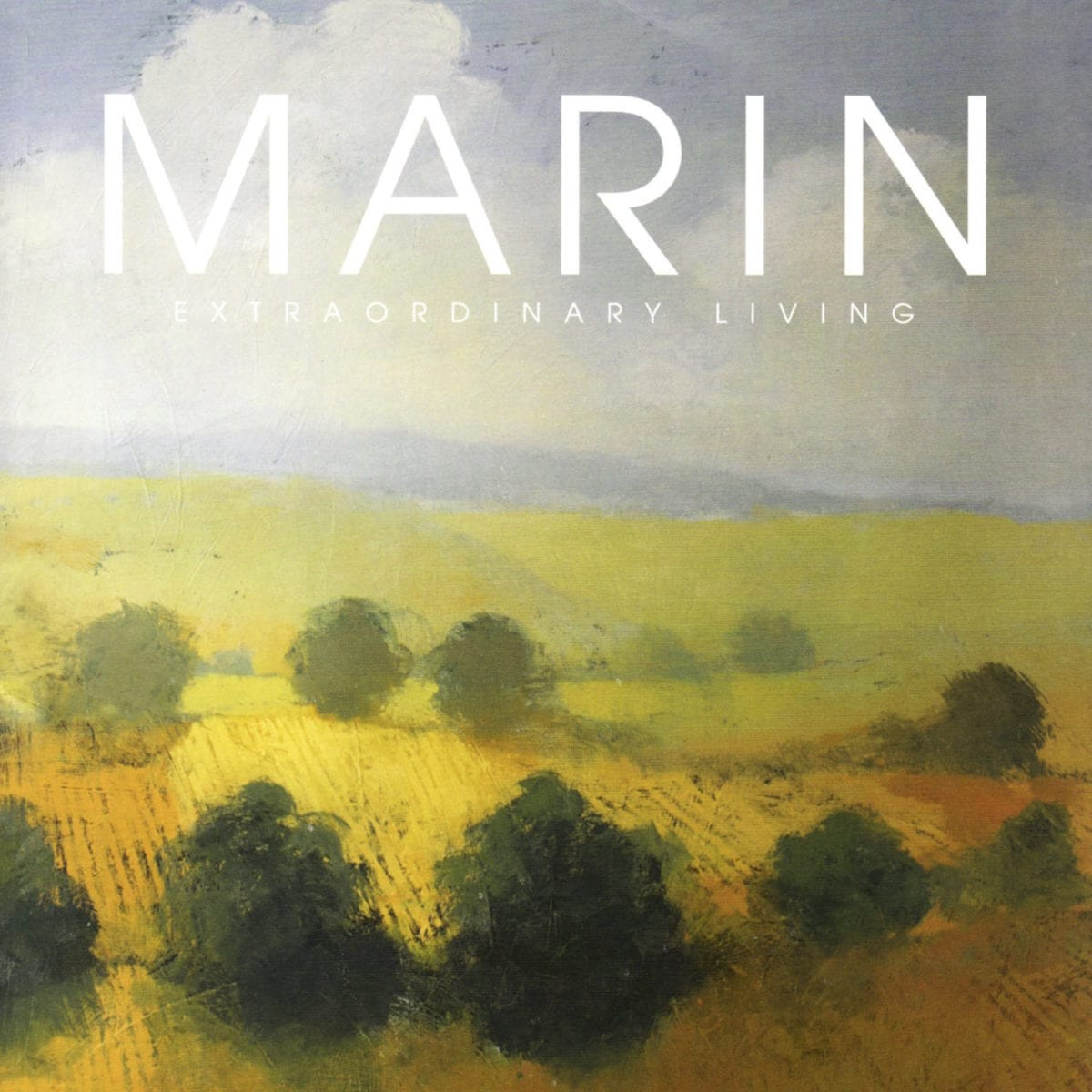 Marin Extraordinary Living magazine cover.