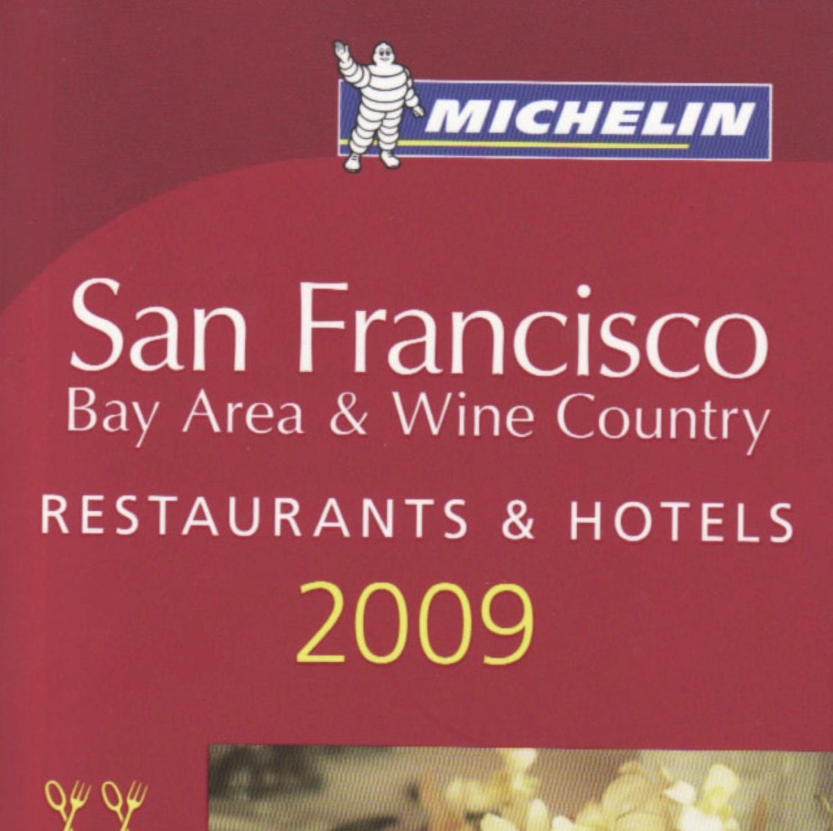 San Francisco 2009 Michelin Guide cover.