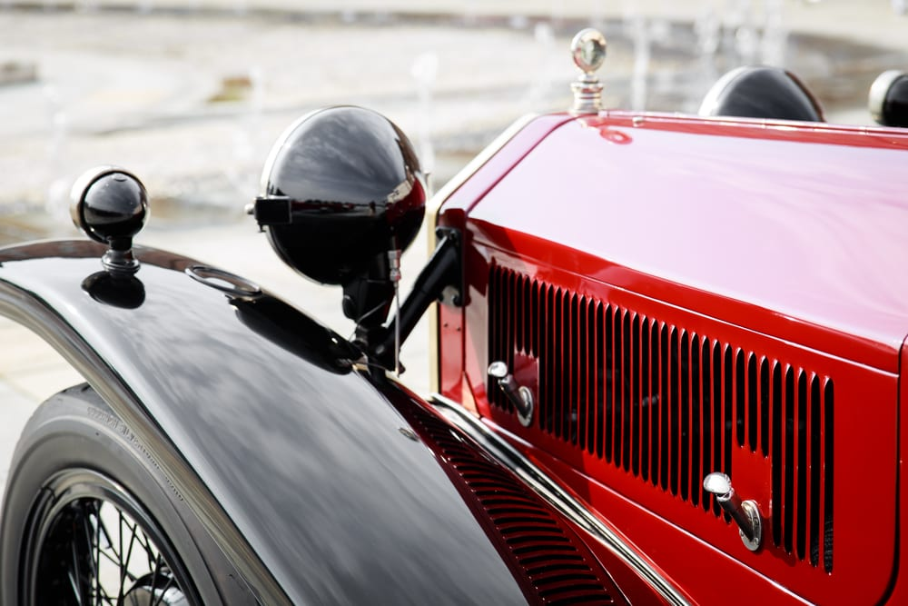Photo of a Vintage Car at One of the Best Sonoma Raceway Events.
